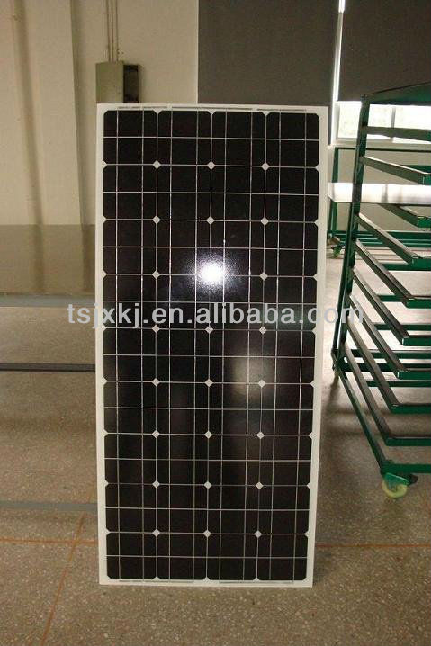 IEC TUV certificate pv modules 130w mono solar panel with MC4 connector for 12v system