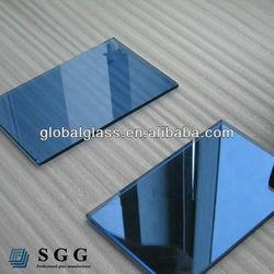 4mm dark blue reflective glass m2 cost