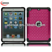 Shockproof for mini ipad case,tpu case for ipad mini with rhinstone