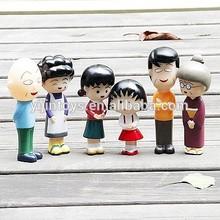 PVC figure family;Plastic figures;OEM vinyl characters