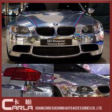 PVC car body sticker paper car chrome film