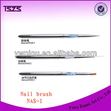 Metal Handle Nail Art Design Painting Brush Pen