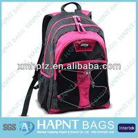 Nylon fashion college rucksack bag