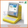 restaurant touch screen kiosk with keyboard and desktop kiosk