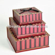 Hot love gift organza box 2012