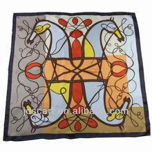 arabian hijab scarf thin 100% silk scarves SYS-015# scarves