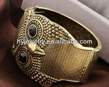 HY Jewelry fashion alloy owl bangle wholesale