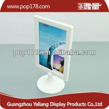 Large beautiful plastic table menu holder display frame stand
