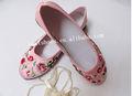 las mujeres zapatos planos bordado a mano los zapatos zapatos de estilo urbano