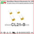 sr cl21 metallisierten polyesterfolie kondensator box