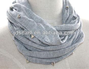 Punk scarves jewelry, neck warmer scarves scarf wholesaler, scarf gift short neck scarves for women