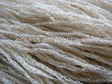 3.7nm acrylic wool tube yarn fancy yarn with lurex