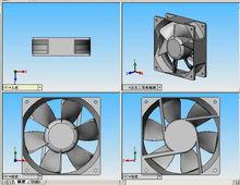 draught fan 120*120*25mm 220v 380v