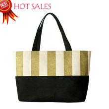 zipper water dust proof Felt cloth Nice Fashion Purse Strong Zipper Tote Shopping Bag