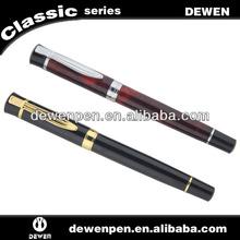 Dewen metal logo pen, roller pen for bank and university present,premium gifts