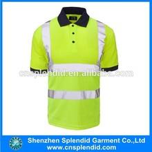 safety short polo,reflective safety short polo,high quality safety short polo