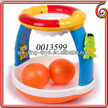 Hot selling electric funny baby basketball toy game