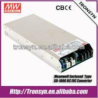 Meanwell SD-1000L-48 1000W 48V 21A Single Output LED Enclosed 1000W 24V 12V DC-DC Converter Power Supply