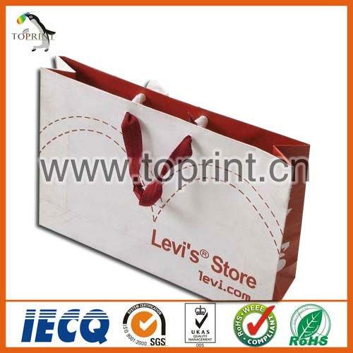 fancy laminated waterproof paper bag
