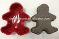 gingerbread man 2014 silicone stampo da plum cake
