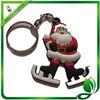 Santa Claus Plastic key chain