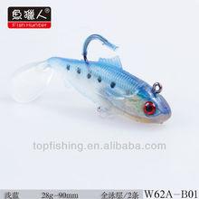 weihai soft fishing baits wholesale plastic fishing worms