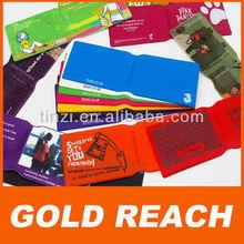 Custom Gift Vinyl Oyster Card Holder