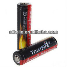 TrustFire ICR14500 3.7V 900mAh green Li-ion Battery(2 pcs)