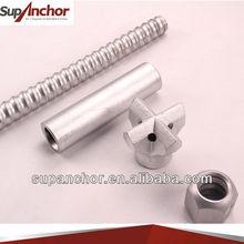 SupAnchor high quality soil nail stabilizer SDA hollow self drilling threading rock anchor bolts