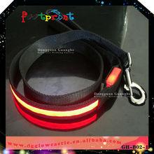 Factory price leash led dog item