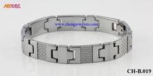Hot sale tungsten bio bracelet magic magnetic bracelet/custom magnetic bracelet