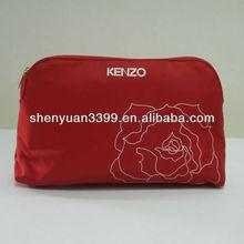 Dongguan unique design fashion korean cosmetic bag/cosmetic pocket