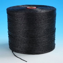 fibrillated pp yarn/polyester sewing thread1mm recycled plastic string supplier