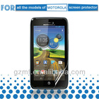 Myfone privacy/mirror/plain/anti glare mobile phone LCD screen protectors/guard/cover/film for All the models of Moto