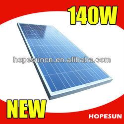 140W solar panel/polycrystalline solar panel