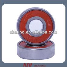 SUPER single red rubber seal skating longboard skateboard speed inine skate ABEC-1 ABEC-3 ABEC-5 ABEC-7 ABEC-9 ABEC-11 bearing