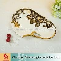 New Design Fashion Ceramic Fruit Tray