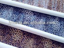fashion pvc leather/Leopard grain pattern