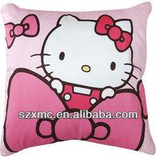 Hello kitty Pinkish blue lovely printing pillow