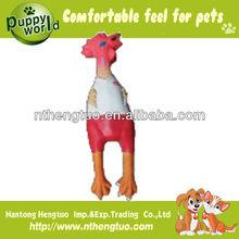 bikini latex chicken dog toy,squeaky dog toys
