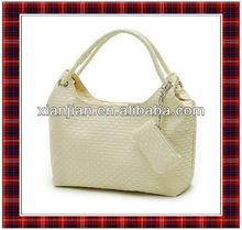 2015 Quilted Shoulder Bag   New Fashion Handbag   Knitted Bag (BXW009)