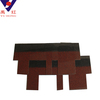 Red Irregular Shape Roof Tile