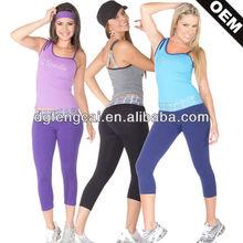 OEM Dry Fit Breathable Misture-Wicking Custom Womens Yoga Clothing,Gym Wear,Fitness Wear