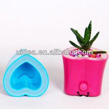 ABS Heart shaped USB brush pot speaker