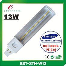 3 years warranty High lumens Samsung smd cfl lamp holder