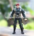 plastic soldier custom cartoon action figure;soldier pvc custom actin figure;action figure manfacturer