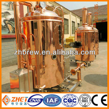 red copper beer machinery brewing kettle