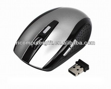 Ergonomic 2.4ghz optical wifi mouse