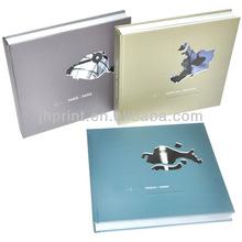Hardcover Book Printing, 3mm Grey Board