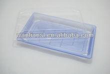 Light Blue Plastic Sushi Container